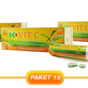 JUAL PAKET K-VIT C PLUS TEAVIGO 3PCS