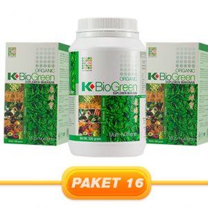 JUAL PAKET K-BIOGREEN 500GR 2PCS