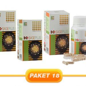 JUAL PAKET K-SAGE PLUS 60CAPS 3PCS