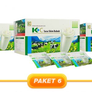 JUAL PAKET K-C SKIM MILK 3PCS