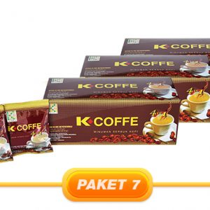 JUAL PAKET K-COFFEE 4 IN 1 (3 PCS)